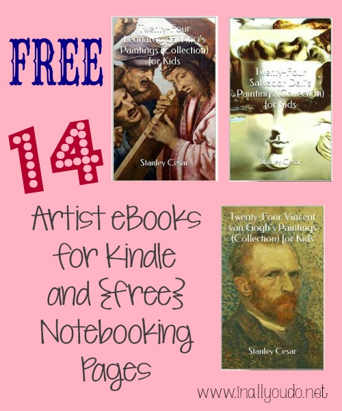 MORE FREE Artists ebooks