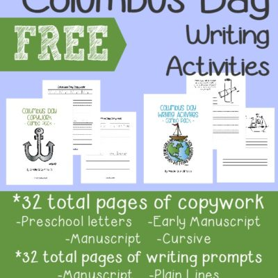 Columbus Day Writing Activities