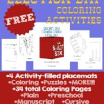 Election Day Coloring Activities