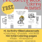 Fire Safety Week Coloring Activities