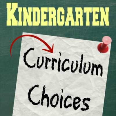 2014-2015 Kindergarten Curriculum Choices