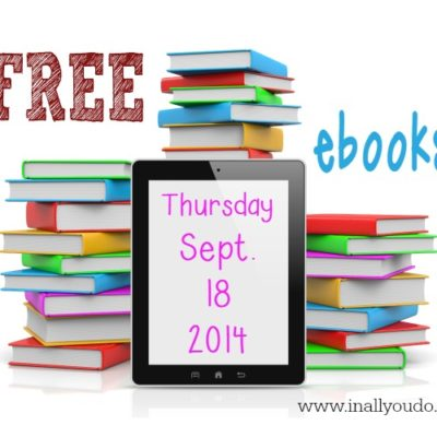 10 FREE ebooks for Kindle 9/18/14