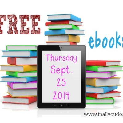 10 HOT Children's ebooks Only $1.00–Until October 1st.