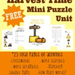 Harvest Time Mini Puzzle Unit