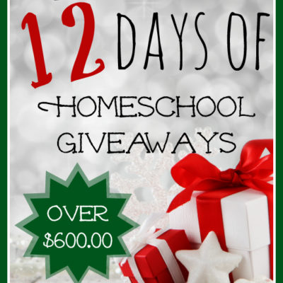12 Days of Christmas Homeschool Giveaways!!!