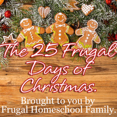 25 Frugal Days of Christmas ~ 2014 edition