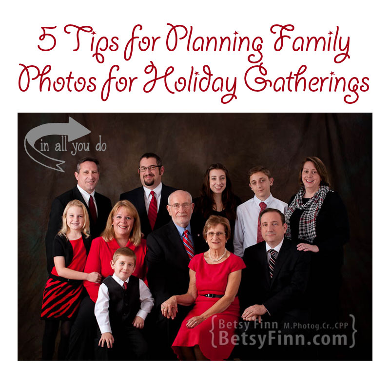 Tired of not getting the family photos you want? Check out these 5 easy tips for getting those priceless photos and cut out the stress this holiday season!!
