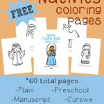 Nativity Coloring Pages ~ 60 pages