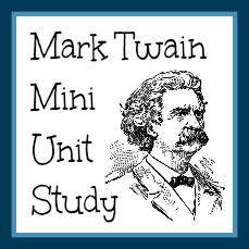Mark Twain Mini Unit Study
