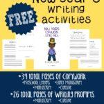 New Year's Writing Activities