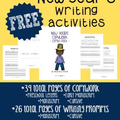 New Year's Writing Activities