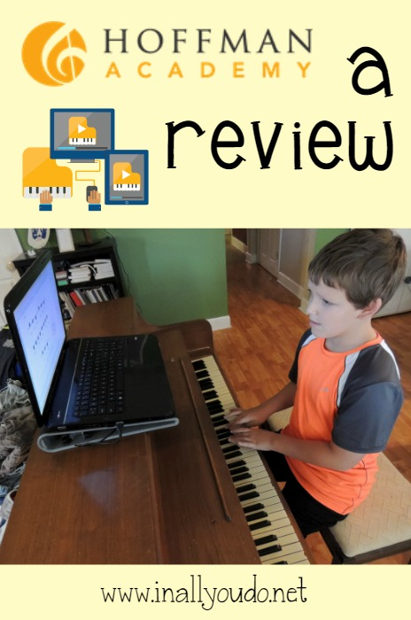 Learn piano right from your home with Hoffman Academy Online Piano Lessons!! Read my full review ~ www.inallyoudo.net