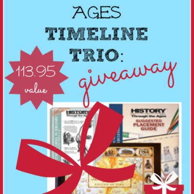 Day 3 ~ History Through the Ages {$113.95 Value}