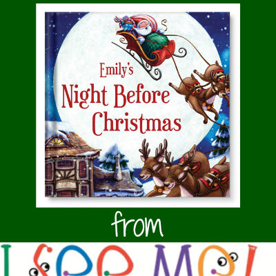 Day 10 ~ WIN a Personalized Christmas Book!!
