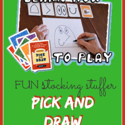 Day 1 ~ Pick and Draw Activities {10 WINNERS}