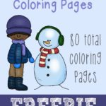 {free} Snowy Days Coloring Pages (80 pages)