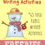 Snowy Days Writing Activities {free printables}