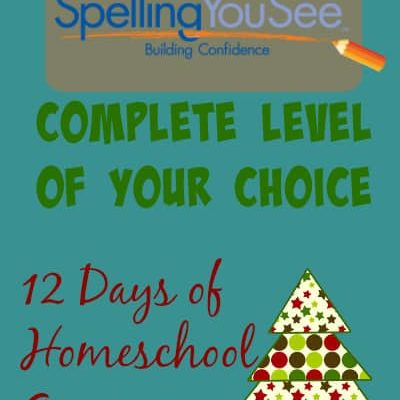 Day 6 ~ Spelling You See Complete Level