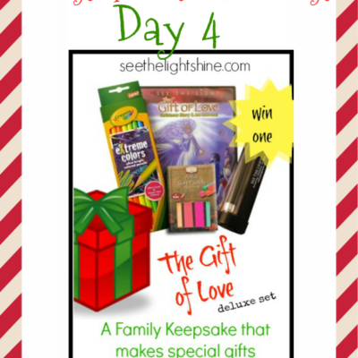 Day 4 ~ See the Light Art Set {1 WINNER}