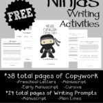 Ninja Writing Activities ~ 62 total pages