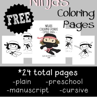 {free} Ninja Coloring Pages