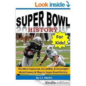 super bowl history for kids