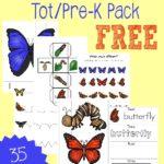 Butterflies Tot & PreK/K Pack