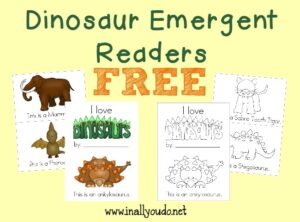 Dinosaur Emergent Readers