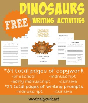 Dinosaur Writing Activities