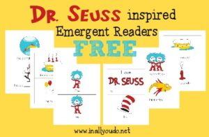 Dr Seuss Inspired Emergent Readers