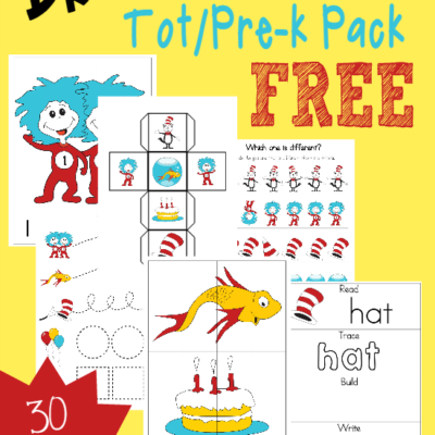 Dr. Seuss Tot & PreK-K Pack & Emergent Readers