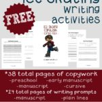 {free} Ice Skating Writing Activities