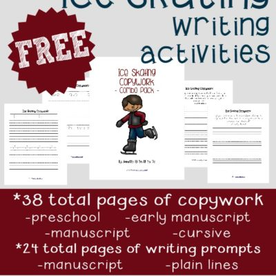 {free} Ice Skating Writing Activities