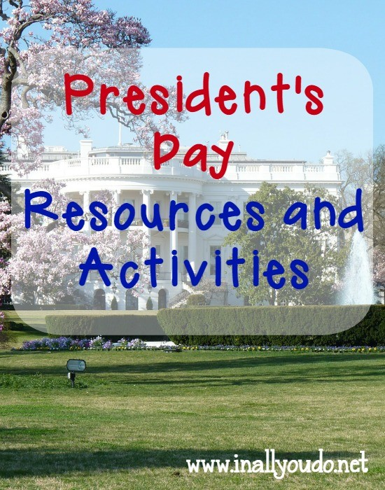 65+ President's Day Resources and Activities including {free} printables, crafts, recipes, books and MORE! :: www.inallyoudo.net