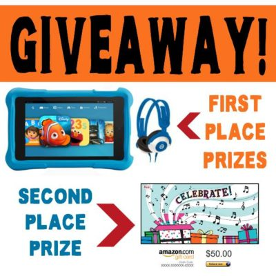 GIVEAWAY ~ Win a Kid's Kindle Fire for National Reading Month!!