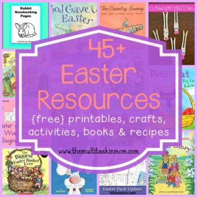 Easter Resources ~ {free} printables, activities, recipes & MORE!