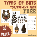 FREE Types of Bats Tot & PreK-K Pack