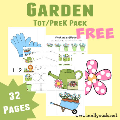 Garden Tot &PreK-K + Emergent Readers