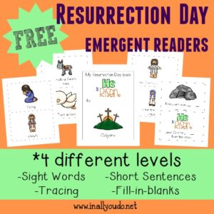Resurrection Day Emergent Readers