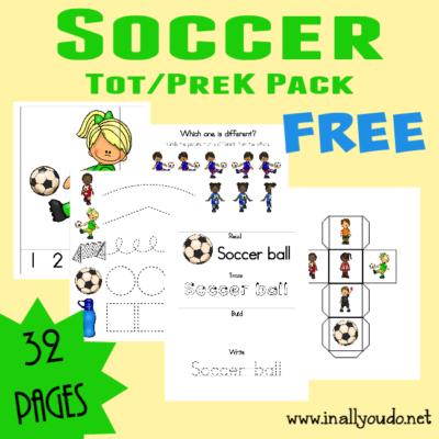 Soccer Tot & PreK-K Pack