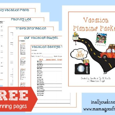 FREE Vacation Planning Packet