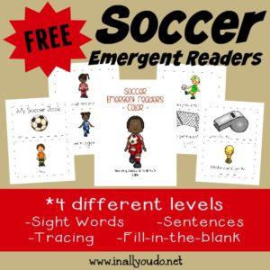 Soccer Emergent Readers