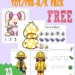 FREE Spring Printable Packs {Tot/PreK & Emergent Readers}