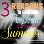 Why you should Continue Music Lessons through the Summer