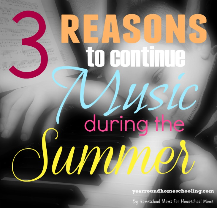 Continuing Music lessons through the Summer might not be popular, but it might be necessary. Here's 3 reasons why you should and ways to make it FUN!! :: www.inallyoudo.net