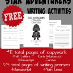 FREE Star Adventurers Writing Activities