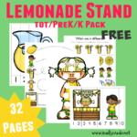 Lemonade Stand Tot & PreK-K Pack {32 pages}