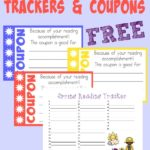FREE Seasonal Reading Trackers & Coupons