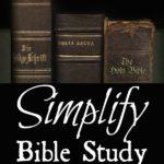 Simplify Bible Study