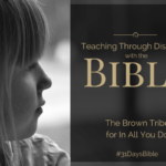 Teaching Through Discipline with the Bible